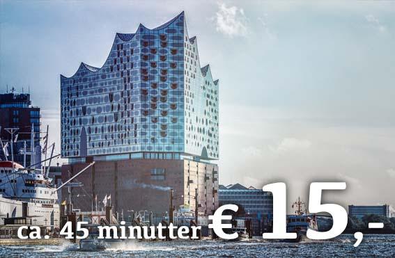 Elbphilharmonie rundvisning dansk