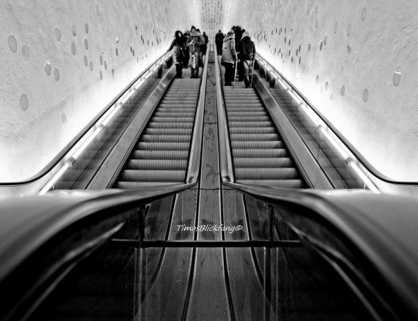 En af verdens længste rulletrapper