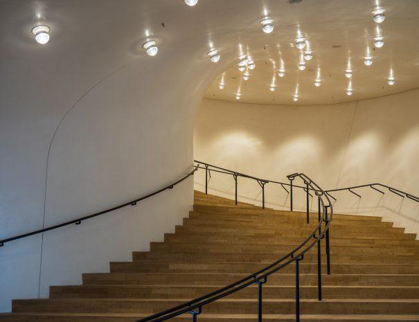 Opgangen til koncertsalen