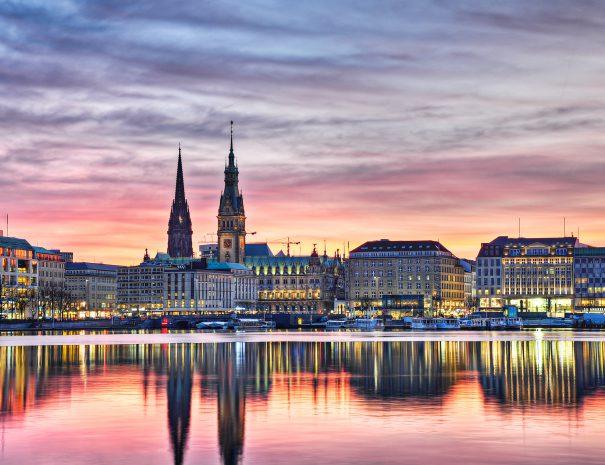 Oplev Hamborgs skyline