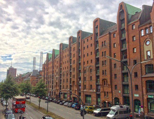 Varehusbyen i Hamborg