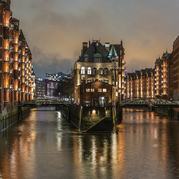 Hamborg Speicherstadt med dansk guide