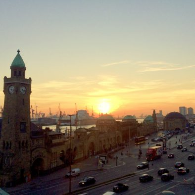 Havnestemning i Hamborg