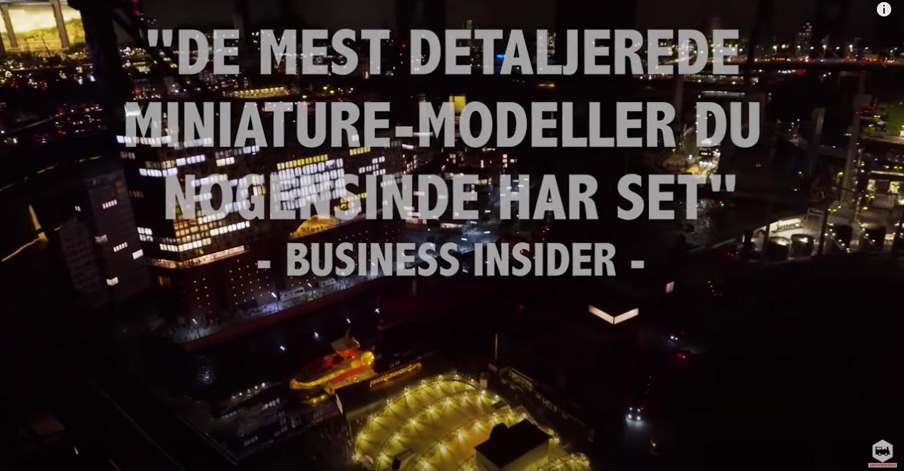 største modeljernbane i Hamborg
